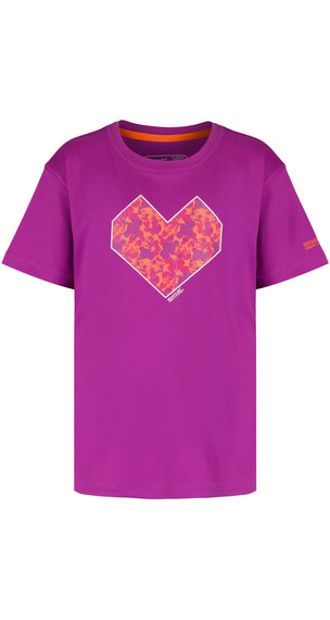 Regatta Alvarado II Shortsleeve Shirt Children purple